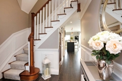 The Gables - staircase and downstairs hallway