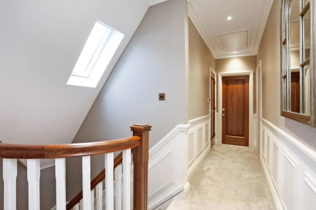 The Gables - upstairs hallway